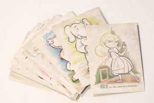 AlphaBooks Postcard Set