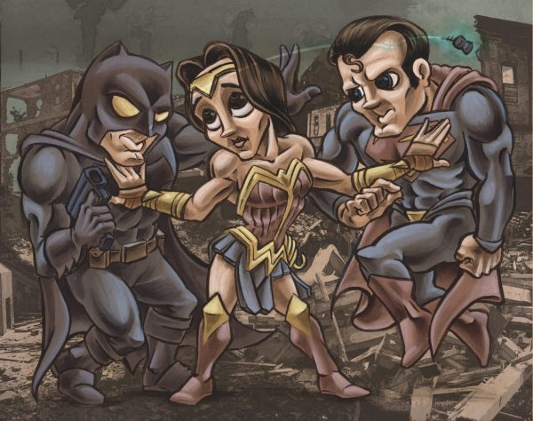 Batman v Wonder Woman v Superman