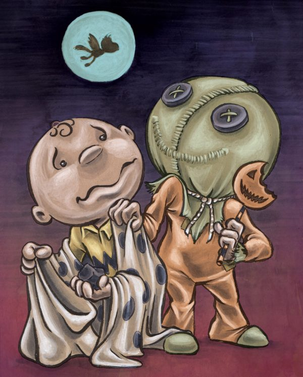 Trick R Treat Charlie Brown