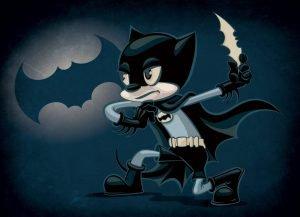 Batman Old Timey