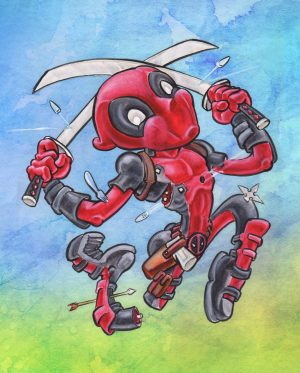 Deadpool Frolic