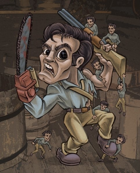 Ash from Army of Darkness