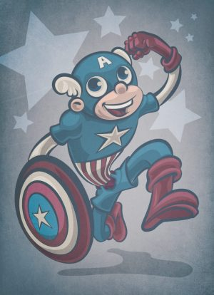 Captain America Old Timey