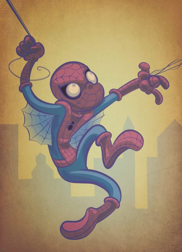 Spider-Man Old Timey