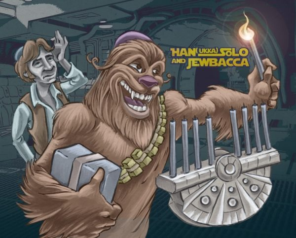 Han(nuka) Solo and Jewbacca
