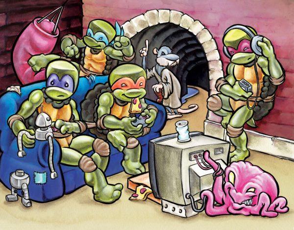 TMNT hangout